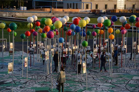 Art installation near Berliner Dom, Berlin.