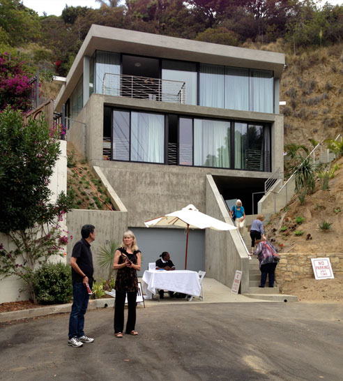 Duuplex dwell on design 2013 for House plans for steep sloping lots